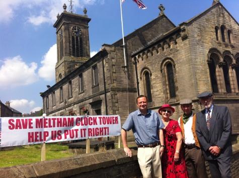 Meltham Clock Tower