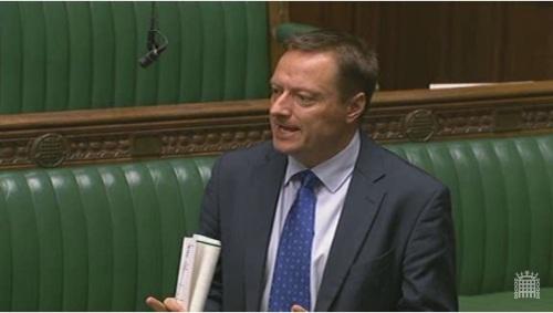 Jason in Parliament