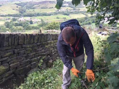Volunteer Week Crossing the Pennines