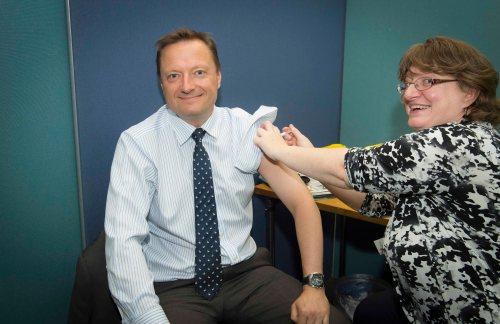 Jason McCartney Westminster Flu Day
