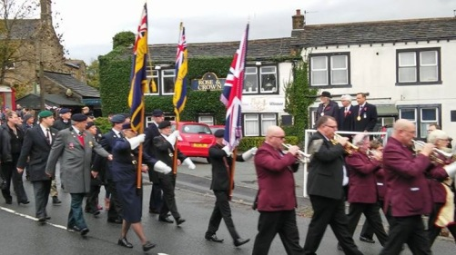 remembrance Day Golcar 7