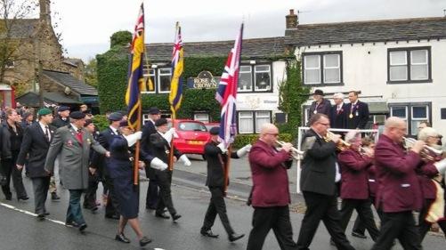 remembrance Day Golcar 7