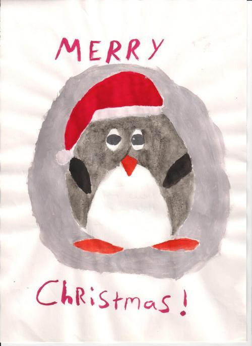 Winning Christmas Card