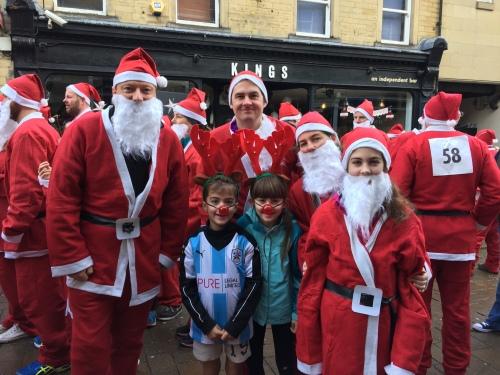 Huddersfield Santa Dash 2015