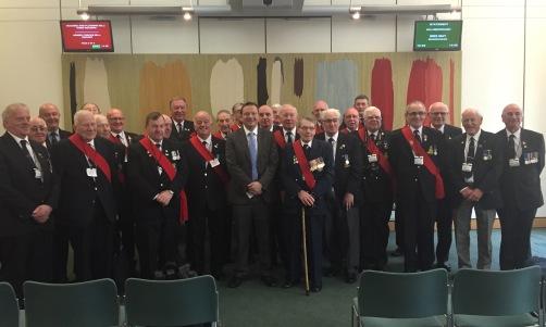 Veterans in Parliament