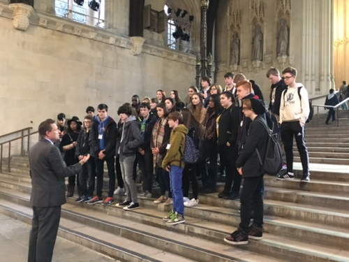Kirklees Youth Council in Parliament